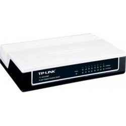 TP-Link Unmanaged Switches TP-Link TL-SG1008D Gigabit Switch 8 Port 10/100/1000Mbps (Plastic Case)