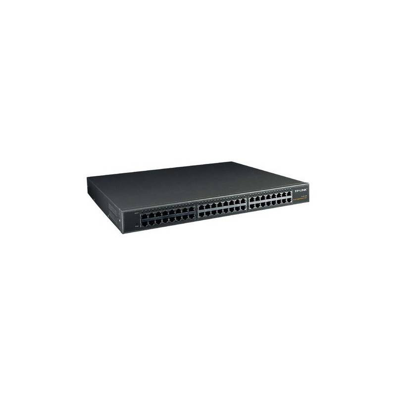 TP-Link TL-SG1048 - 48-port 10/100/1000 Unmanaged Gigabit Rackmount Switch
