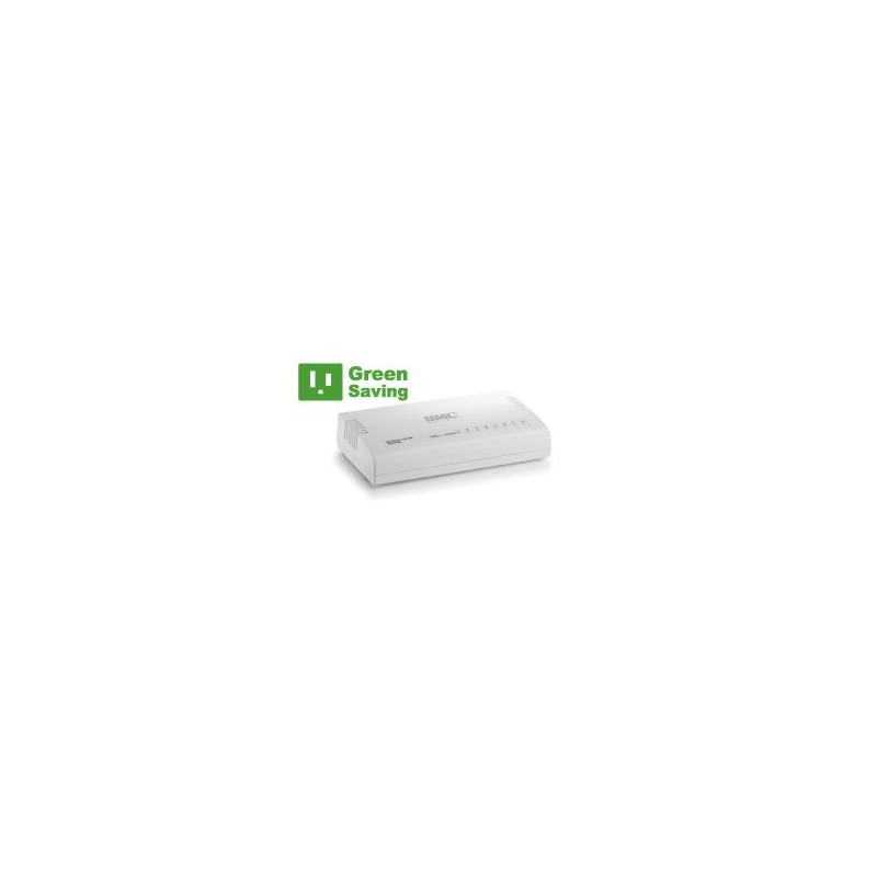 SMC Home SMC - SMCFS8 - EZ Switch 8 port 10/100 Desktop Switch
