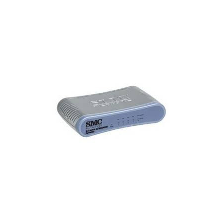 SMC - SMCGS5 - EZ Switch™ 10/100/1000 Standalone 5-port Unmanaged Desktop Switch