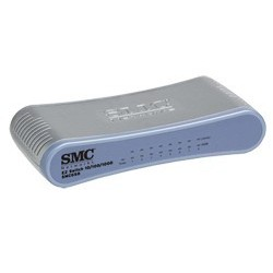 SMC - SMCGS8 - EZ Switch™ 10/100/1000 Standalone 8-port 10/100/1000 Unmanaged Switch