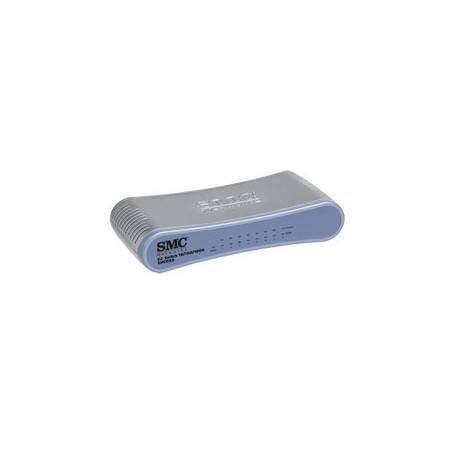 SMC - SMCGS8 - EZ Switch™ 10/100/1000 Standalone 8-port Unmanaged Desktop Switch