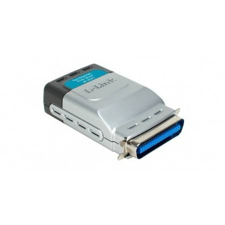 D-Link DP-301P+ - Parallel Port 10/100Mbps Print Server (Support IPP)