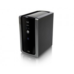 Linksys NMH300 - 2-Bay Network Media Hub, 1 Gigabit Port, 2 USB 2.0, RAID 0/1