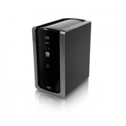 Linksys NMH300 - 2-Bay Network Media Hub, 1 Gigabit Port, 2 USB 2.0, RAID 0/1 อุปกรณ์จัดเก็บข้อมูล (NAS)
