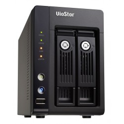 QNAP VioStor-2012- NVR for IP Cameras, 2-BAY, 4TB SATA I/II, 12 Channel, 2 X 10/100/1000Mbps, 3 x USB2.0, 2 x eSATA