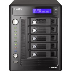 QNAP VioStor-5020 - NVR for IP Cameras, 5-BAY, 10TB SATA I/II, 20 Channel, 2 X 10/100/1000Mbps, 5 x USB2.0, 1 x eSATA