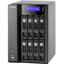 QNAP VioStor-8032 - NVR for IP Cameras, 8-BAY, 16TB SATA I/II, 32 Channel, 2 X 10/100/1000Mbps, 5 x USB2.0