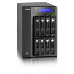 QNAP VioStor-8040 - NVR for IP Cameras, 8-BAY, 16TB SATA I/II, 40 Channel, 2 X 10/100/1000Mbps, 5 x USB2.0