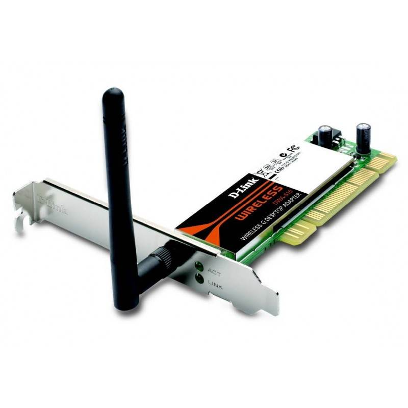 D-Link DWA-510 - 54 Mbps Wireless-G PCI Network Adapter Wireless PCI Adapter