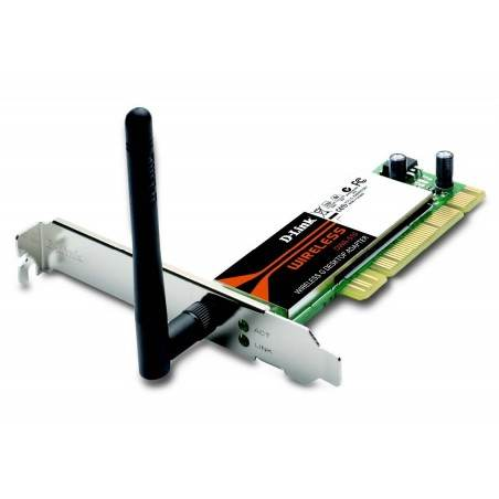 D-Link DWA-510 - 54 Mbps Wireless-G PCI Network Adapter