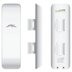 Ubiquiti Wireless AccessPoint (กระจายสัญญาณ Wireless) Ubiquiti NanoStation M2 NSM2 Access Point Outdoor 2.4GHz 150Mbps พร้อม ...