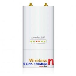 Ubiquiti Ubiquiti Rocket M5 Access Point Outdoor 5GHz 150Mbps พร้อม POE ในชุด