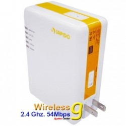 SAPIDO PR-1108 WiFi PowerLine Adapter 85Mbps พร้อม Wireless มาตรฐาน 802.11g แบบภายในอาคาร