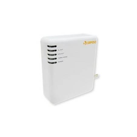 SAPIDO PA-1108 PowerLine Adapter ความเร็ว 85Mbps พร้อม 1 Port RJ-45