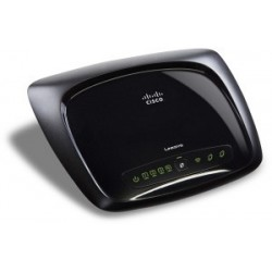 ADSL Wireless Router Linksys WAG320N Dual Band Wireless‐N ADSL2+ Router พร้อม 4 Gigabit Port+ 1 USB 2.0