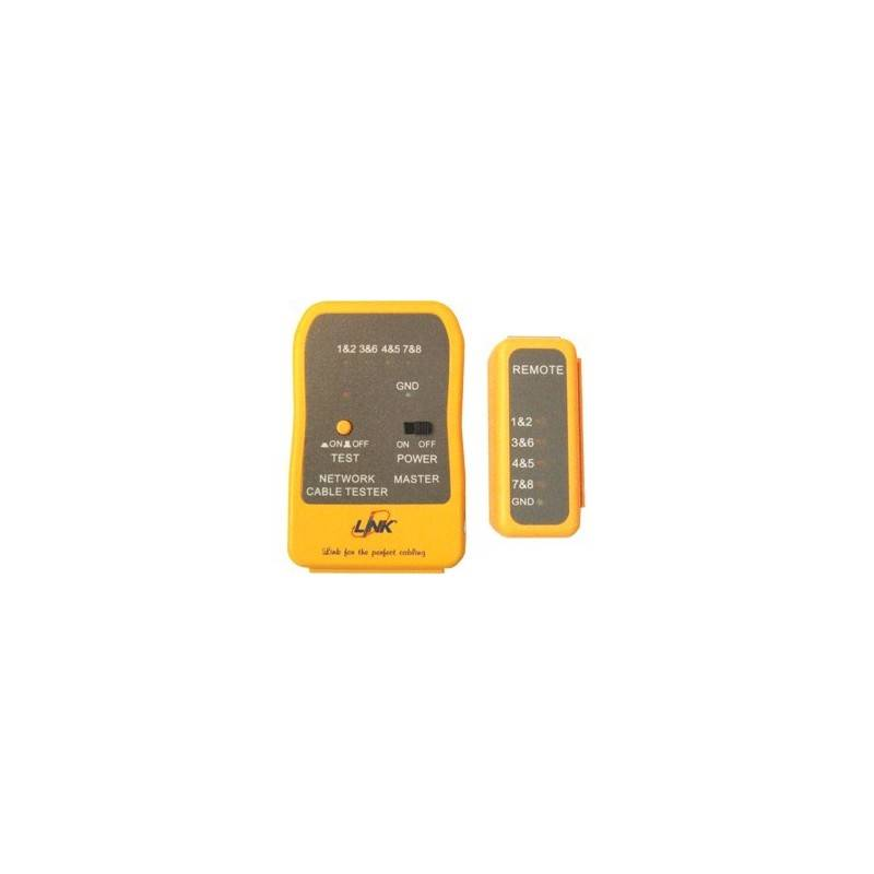 Link Link US-8010 Enhanced UTP Cable Tester (Yellow)