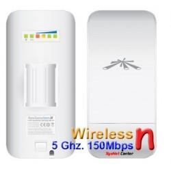 Ubiquiti Ubiquiti NanoStation Loco M5 Access Point Outdoor 5GHz 150Mbps พร้อม POE ในชุด