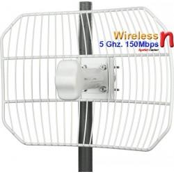 Ubiquiti ย่านความถี่ 5 GHz. Ubiquiti AirGrid M5 Access Point แบบภายนอกอาคาร ความถี่ 5GHz ความเร็วสูง 100Mbps เสากริด 23dBi พร...