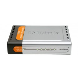 D-Link DES-1005D - Desktop Switch 5-Port 10/100 Mbps