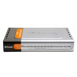 D-Link Unmanaged Switches Switch D-Link DES-1008D - Desktop Switch 8-Port ความเร็ว 10/100 Mbps