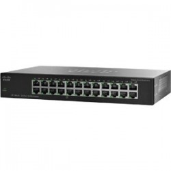 Cisco Unmanaged Switches Switch Cisco SF100-24 Rackmount Switch 24 Port ความเร็ว 10/100Mbps Unmanaged