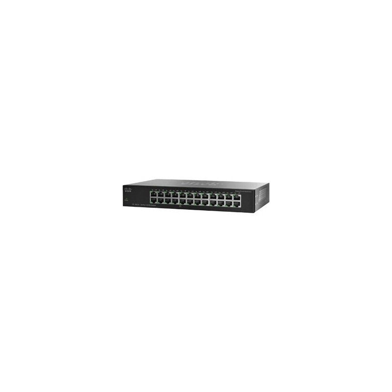 Cisco Switch Cisco SF100-24 Rackmount Switch 24 Port ความเร็ว 10/100Mbps Unmanaged