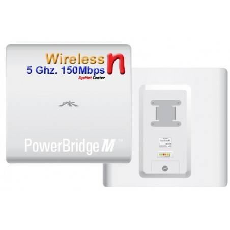 Ubiquiti PowerBridge M5 Access Point แบบ ภายนอกอาคาร  ย่านความถี่ 5GHz ความเร็ว 150Mbps กำลังส่ง 500mW พร้อม POE