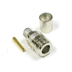 CON-NF : N Type Female Crimp สำหรับ LMR200/RG58U/LLC200