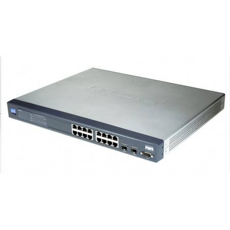 Switch Cisco SRW2016 Managed Switch 16 port Gigabit 10/100/1000Mbps, WebView