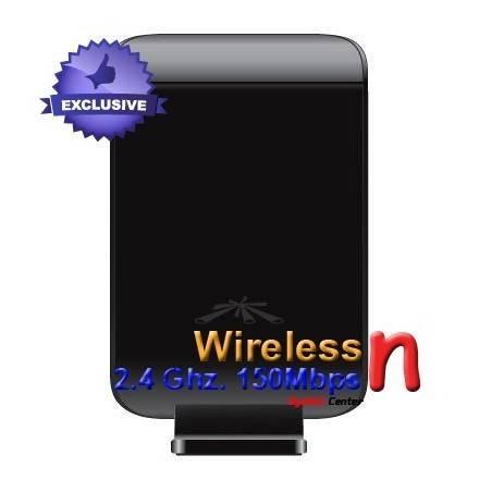 Ubiquiti WiFi Station ความเร็ว150Mbps กำลังส่ง 1000mW ย่านความถี่ 2.4GHz เสาแบบทิศทางขนาด 6dBi