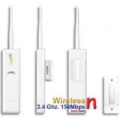 Ubiquiti PicoStationM2HP อุปกรณ์ Wireless AccessPoint แบบ Outdoor ความเร็ว 150Mbps ความถี่ 2.4GHz กำลังส่ง 1000mW