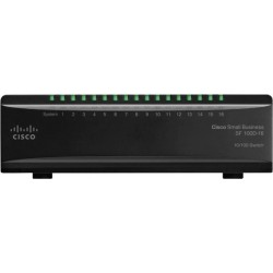 Switch Cisco SF100D-16 (SD216T) Desktop Switch 16 Port ความเร็ว 10/100Mbps