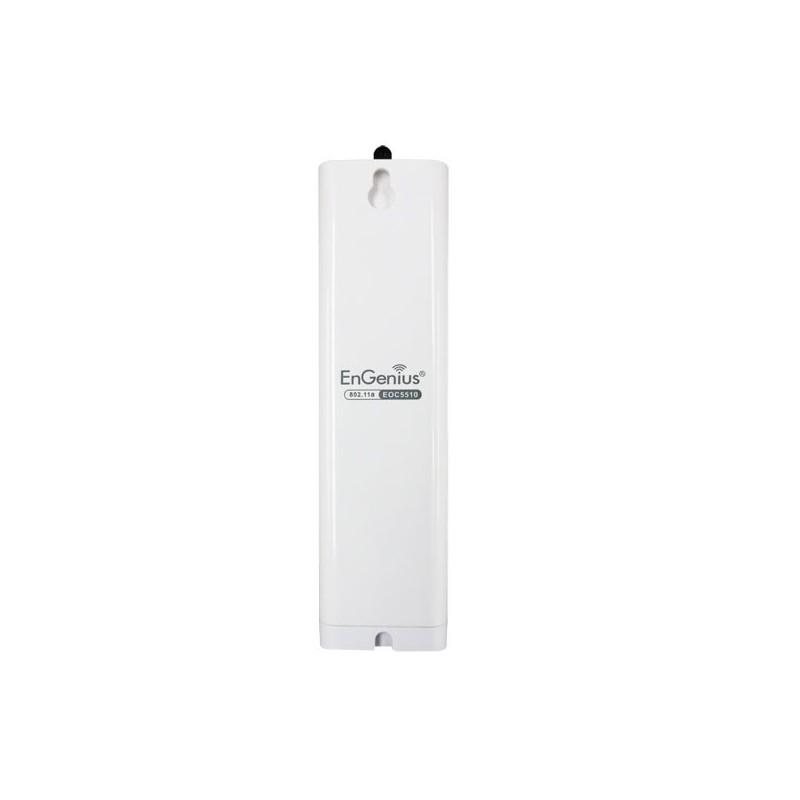 EnGenius EOC-5510 Wireless AP ภายนอกอาคาร ความถี่ 5GHz ความเร็ว 54 Mbps เสาอากาศ 8dBi และ 5dBi 200 mW ย่านความถี่ 5 GHz.