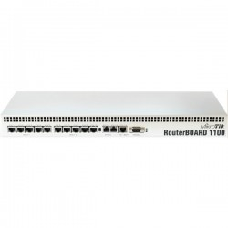 Mikrotik RouterBoard RB-1100 CPU PowerPC MPC8544 Ram 512MB, 1 Serial Port, License Level 6 พร้อม Case Mikrotik (ไมโครติก)