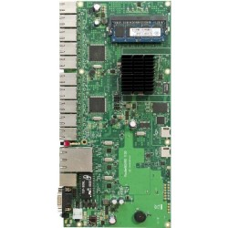 MikroTIK Mikrotik RouterBoard RB-1100 CPU PowerPC MPC8544 Ram 512MB, 1 Serial Port, License Level 6 พร้อม Case