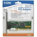 D-Link DFE-520TX - 10/100Mbps Ethernet Lan Card , 32-bit PCI-Bus 2.2