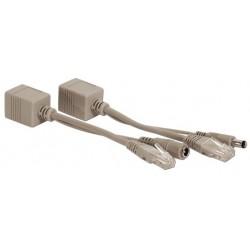 SysNet Center POE-30 (Power over Ethernet) สำเร็จรูป (ฝากไฟไปกับสายแลน)