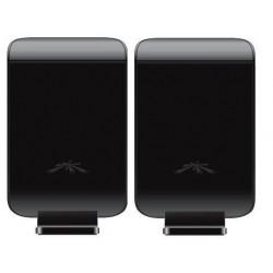 Ubiquiti แบบภายในอาคาร Ubiquiti AirWire Plug 'n Play Wireless Ethernet Cord ย่านความถี่ 5GHz ความเร็วสูงถึง 300Mbps
