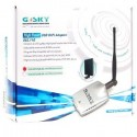 GSky Wireless USB แบบกำลังส่งสูง Gsky GS-27USB-70 USB WIFI Hi-Power 500mW with Panel 7dBi Antenna