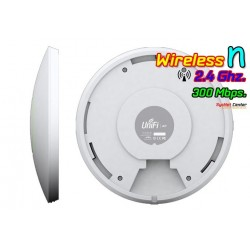Ubiquiti Wireless AccessPoint (กระจายสัญญาณ Wireless) Ubiquiti UniFi UAP Access Point 2.4GHz 300Mbps พร้อม POE
