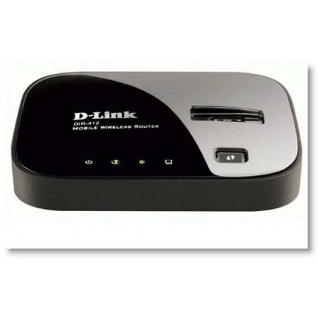 D-Link DIR-412 - 3G, EV-DO/CDMA Wireless Router