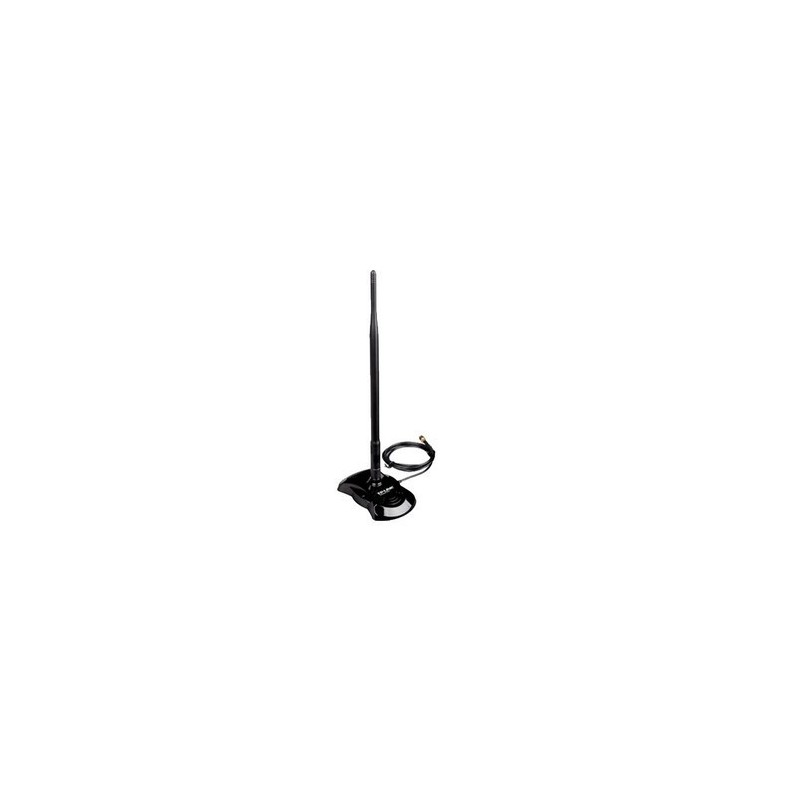 TP-Link เสาอากาศ (Antenna) / สายอากาศ (Cable) TP-LINK TL-ANT2408C Indoor Antenna 8dBi Magnetic Base with 130cm low-loss exten...