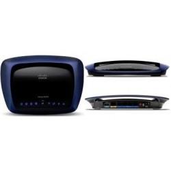Linksys E3000 Wireless Router ใช้งานย่าน 2.4/5Ghz พร้อมกัน Speed 300Mbps พร้อม Hotspot Authen รองรับ USB