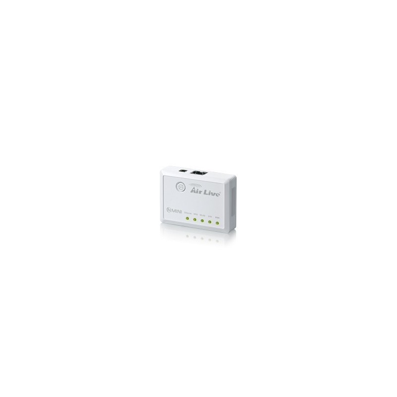 Broadband Router (Router มี Wireless) AirLive N.MINI - 300Mbps Wireless-N Mini รองรับ Mode Router, Access Point และ Client