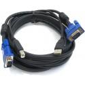 D-Link KVM Switch D-Link DKVM-4U KVM Switch แบบ USB ขนาด 4Port พร้อมสาย Cables 2 เส้น