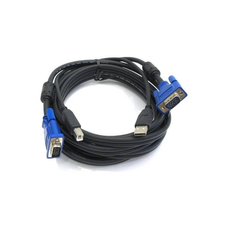 D-Link D-Link DKVM-CU5 สายเชื่อมต่อ KVM ชนิด USB ความยาว 5 เมตร (16-feet) สำหรับ KVM รุ่น D-Link DKVM-4U