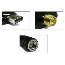ALFA Network ALFA AWUS036NEH ตัวรับ Wireless แบบ USB กำลังส่งสูง High Power 500mW ความเร็ว 150Mbps