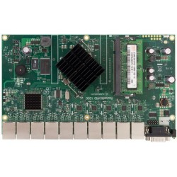 MikroTIK Mikrotik RouterBoard RB-1200 PowerPC PPC460GT Ram 512MB ROS License Level 6