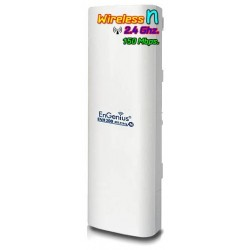 Engenius ENH-200 Wireless Access Point แบบภายนอกอาคาร ความถี่ 2.4GHz 150 Mbps  ระยะทางถึง 5 Km กำลังส่ง 500 mW